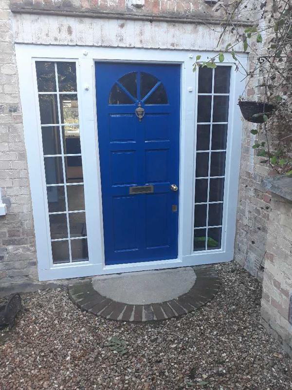 Image 29 - custom oak beam front door frame