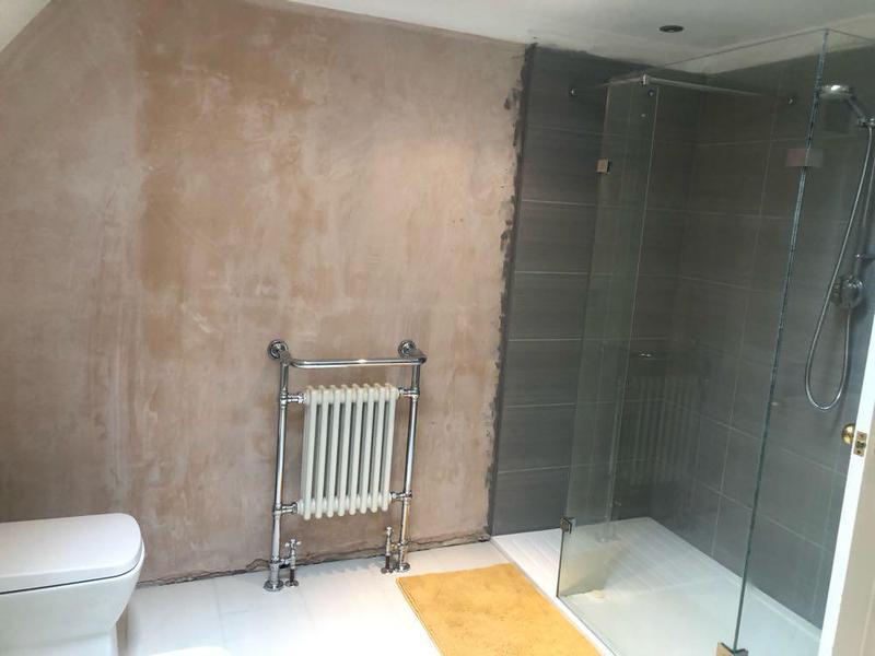 Image 6 - New bathroom installation floor & wall tiling