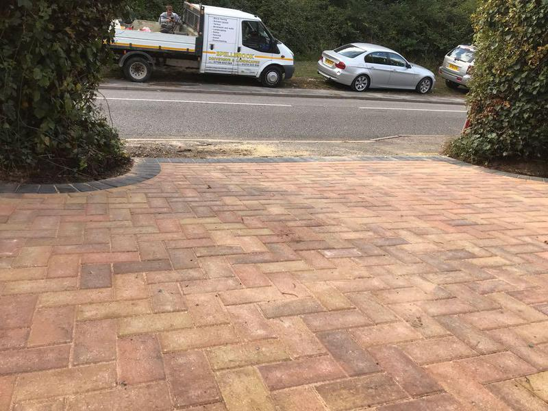 Image 80 - Block paving in Bishops Stortford.
