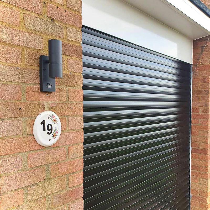 Image 2 - Our client chose a smart light to go with their new roller door