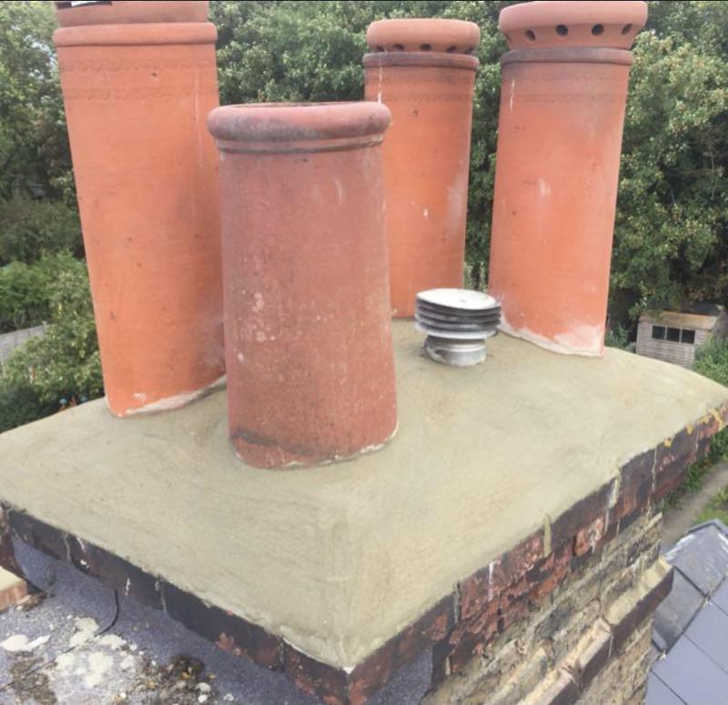Image 3 - Chimney Re-Domed And Re-Pointed
