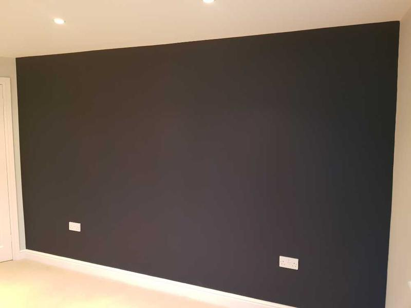 Image 97 - feature wall completed