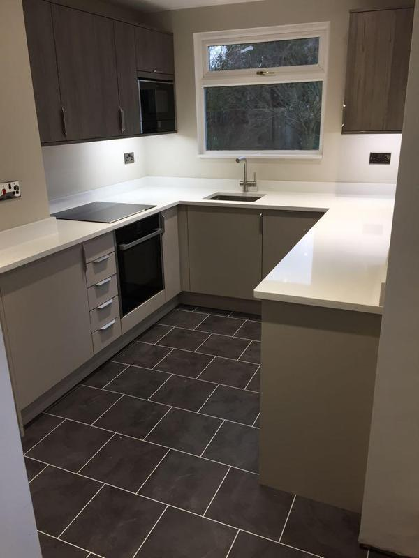 Image 44 - customer supplied units, kitchen refurb and a great finish