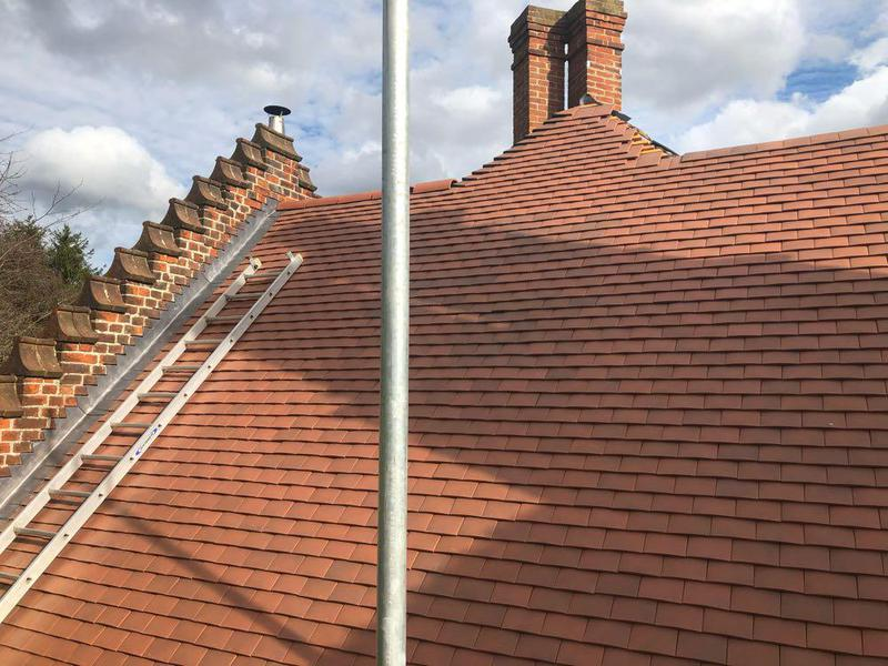 Image 24 - Reroofing we recently carried out in Little Glemham