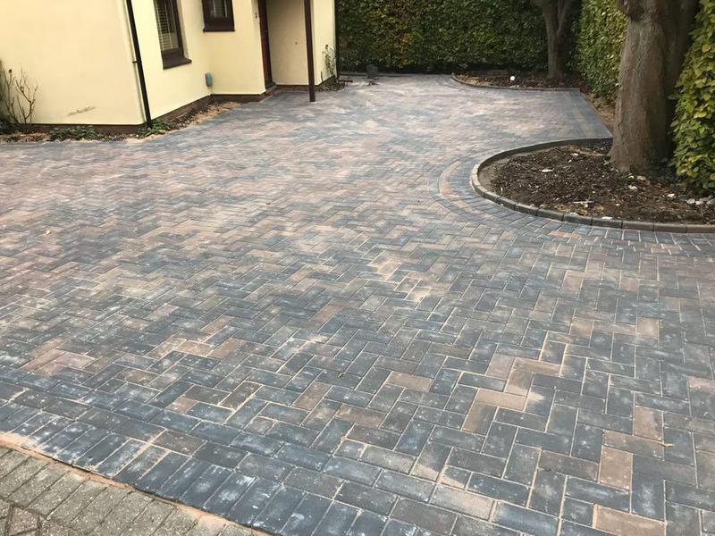 Image 81 - Block paving driveway in Bishops Stortford