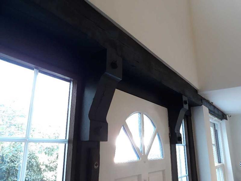 Image 32 - handmade oak front door frame