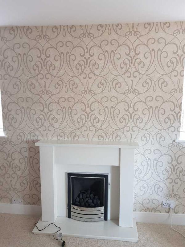 Image 119 - feature wall completed