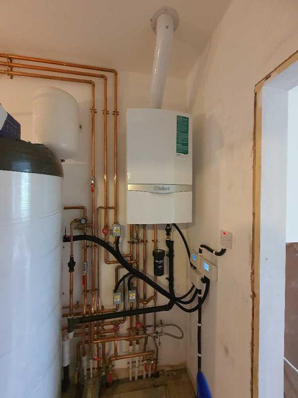 Image 3 - Boiler and Megafloo installed at Barnet