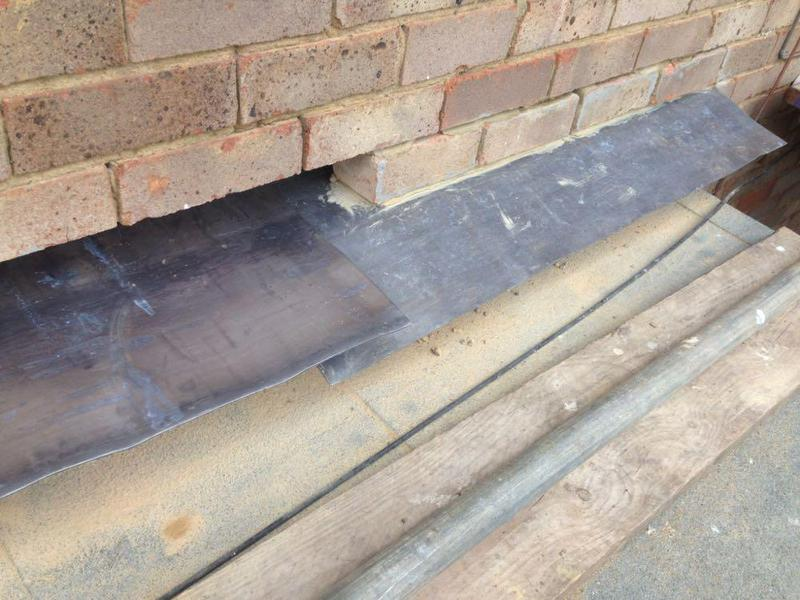 Image 39 - Cavity tray installation in Lancing West Sussex