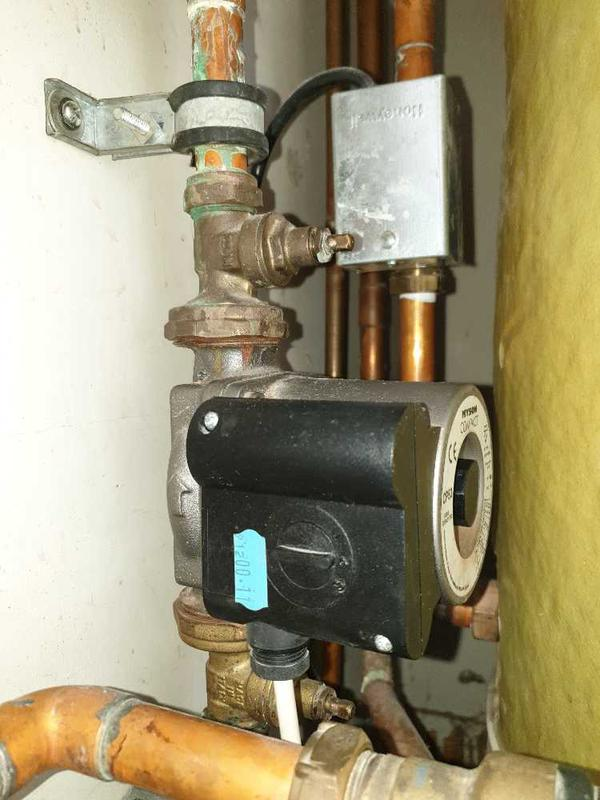 Image 14 - Heating pump replacement, Staines #1.