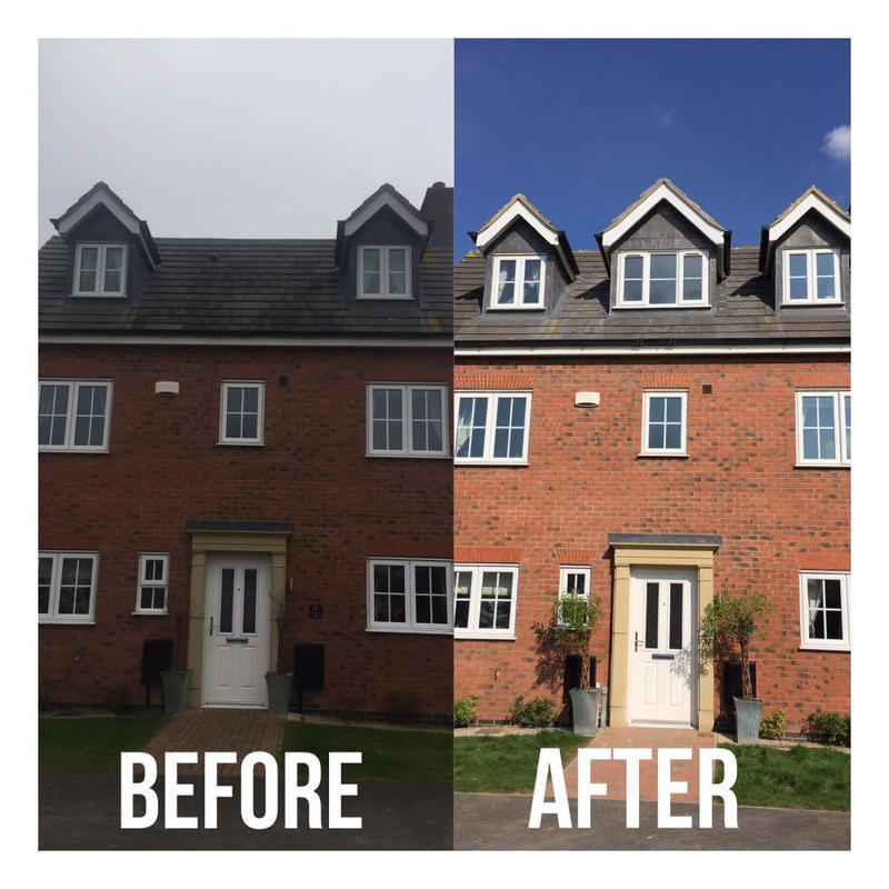 Image 9 - before and after picture of the dormer conversion.