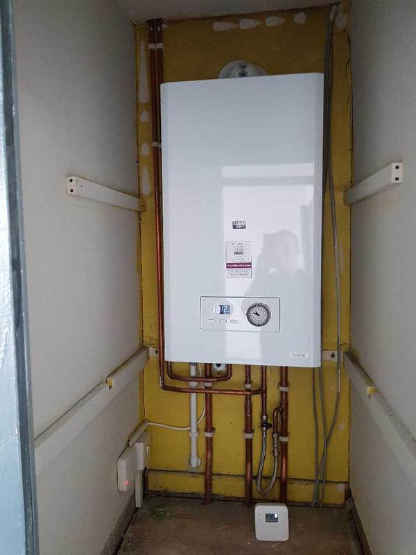 Image 49 - Boiler installation