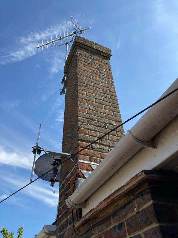 Image 21 - Repointing chimney in Tarring