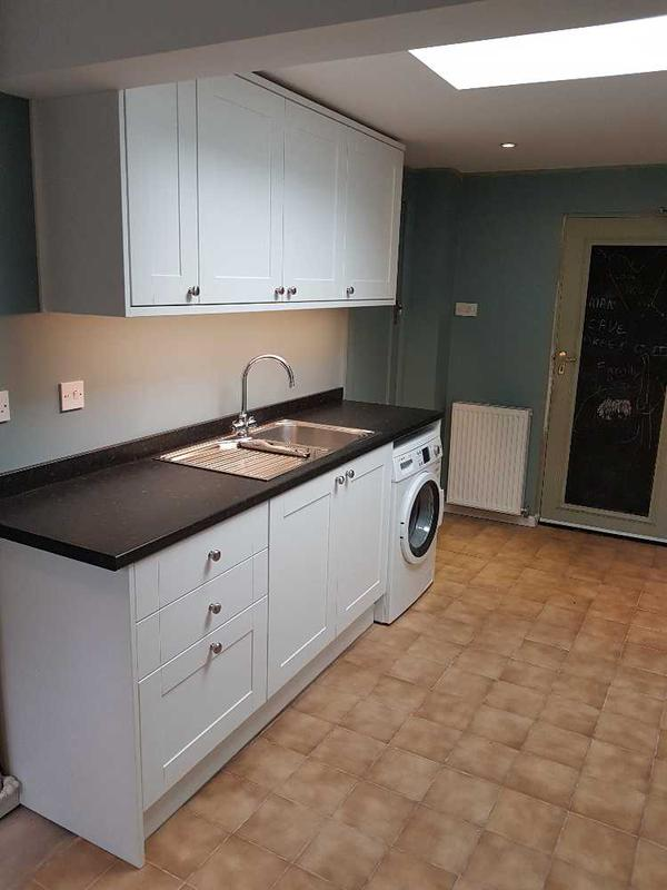 Image 8 - New utility kitchen units with under cupboard LED lighting.