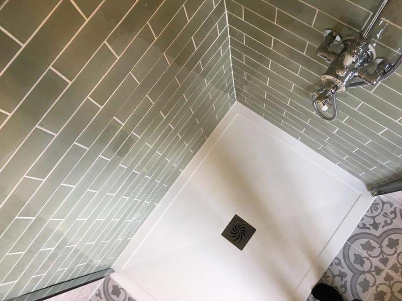 Image 39 - New shower room