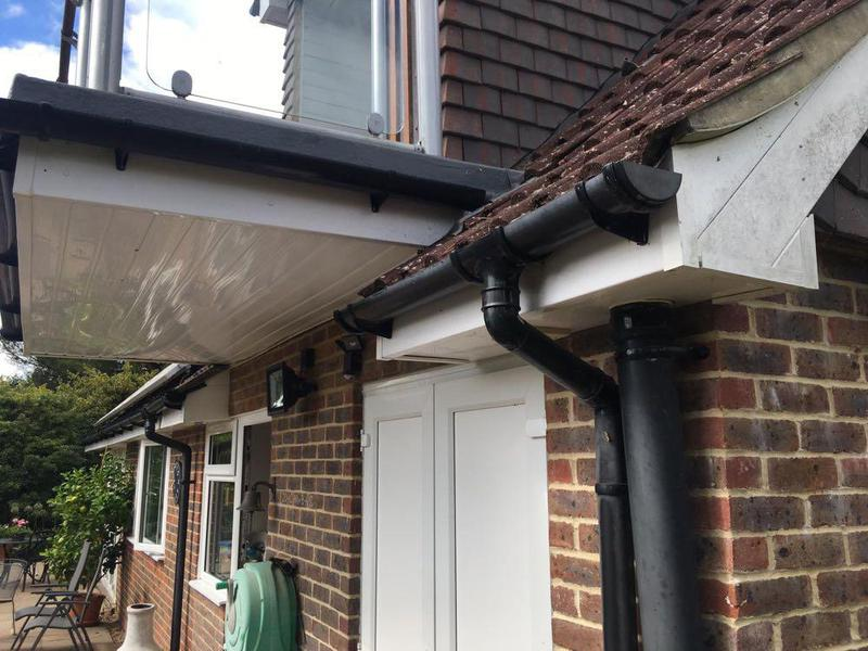 Image 22 - New Gutter and re- roof and Facials