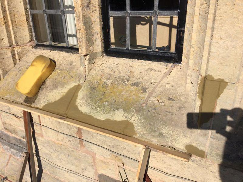 Image 47 - Stone repairs in Storrington