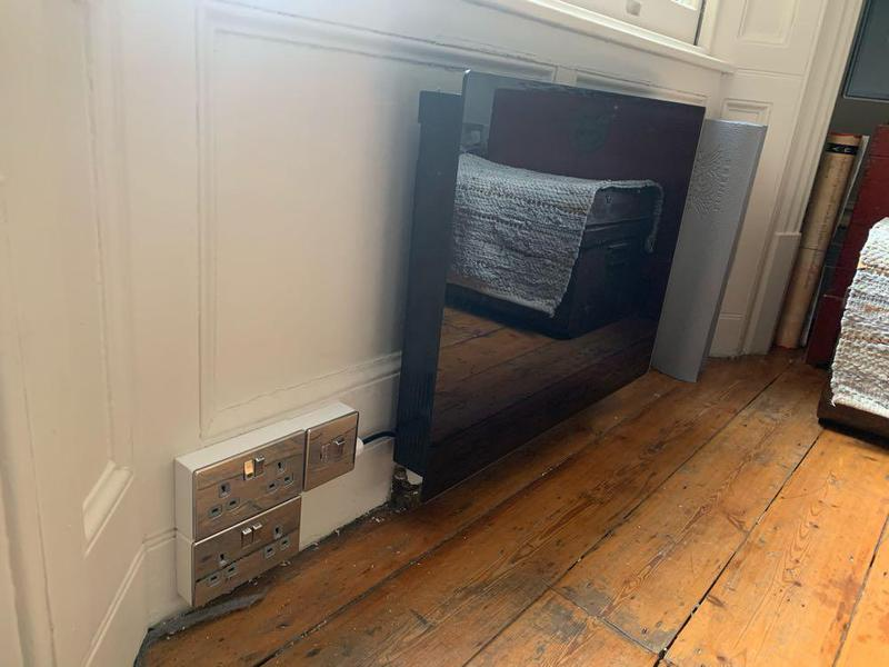 Image 44 - Power and Panel Heater install in small flat.