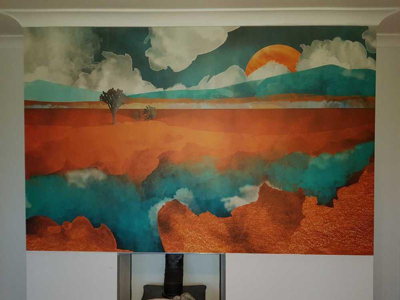 Image 71 - mural hung