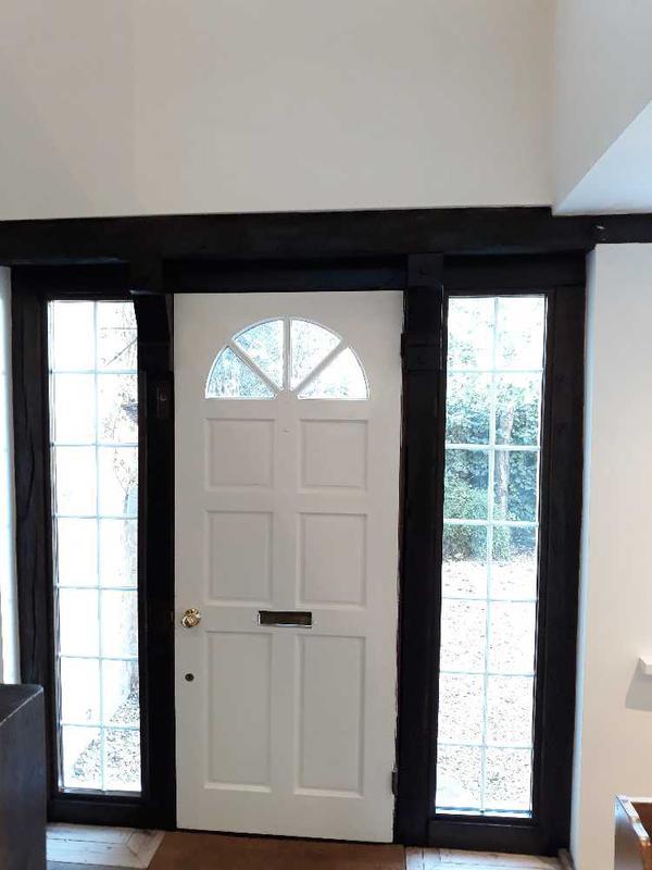 Image 33 - hand made oak beam front door frame