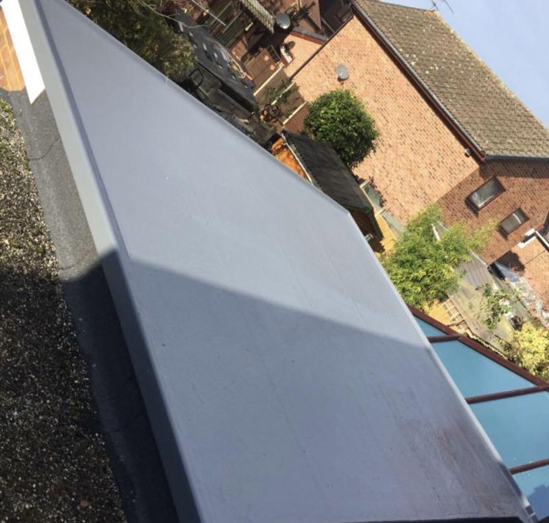 Image 1 - Polyurethane Roof System Installed