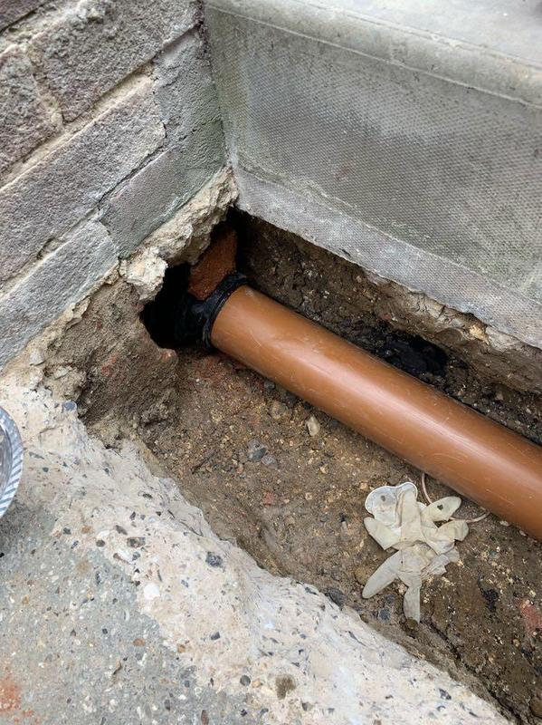 Image 46 - Drain repair case in Reading