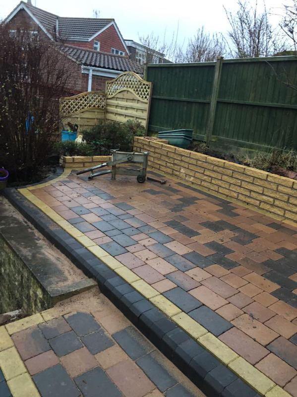 Image 108 - Fancy Tegula paving  Patio With Steps