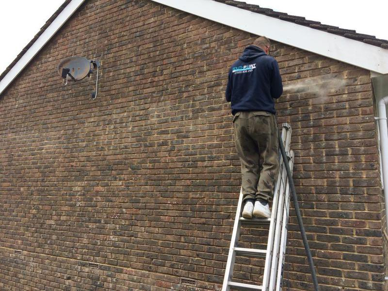 Image 22 - Grinding out pointing in findon west sussex