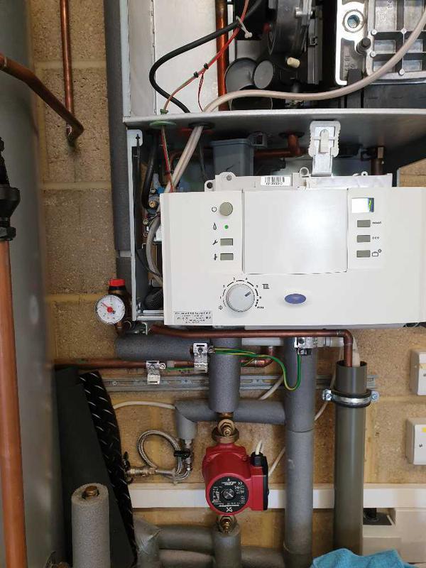 Image 48 - Boiler repairs, Staines #2.