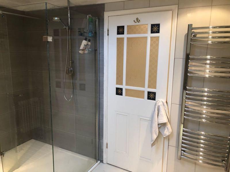 Image 7 - New bathroom installation floor & wall tiling