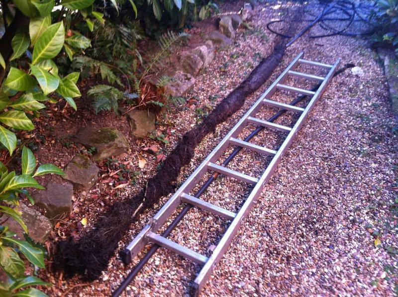 Image 39 - Root removal from a drain in Tunbridge Wells