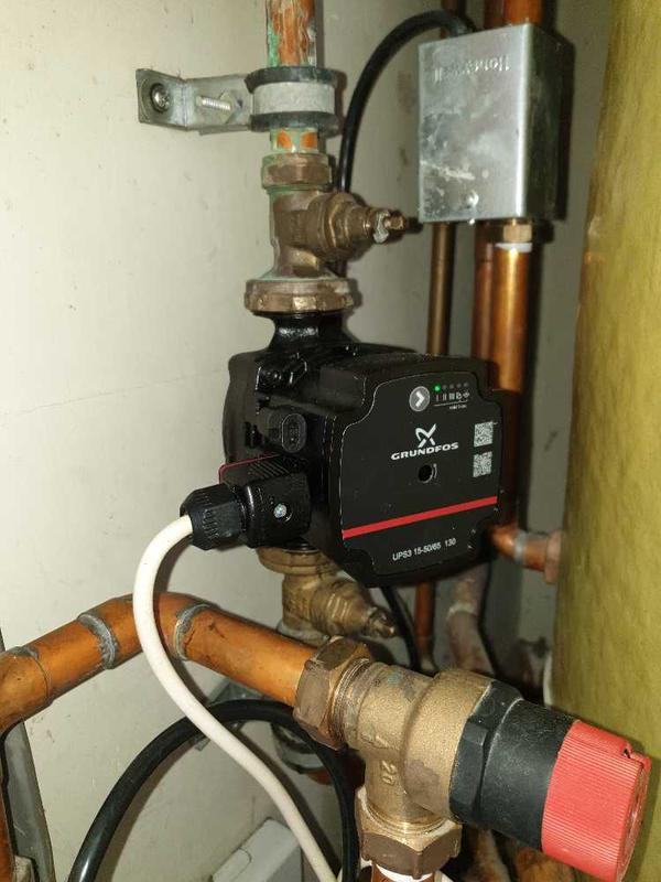 Image 13 - Heating pump replacement, Staines #2.