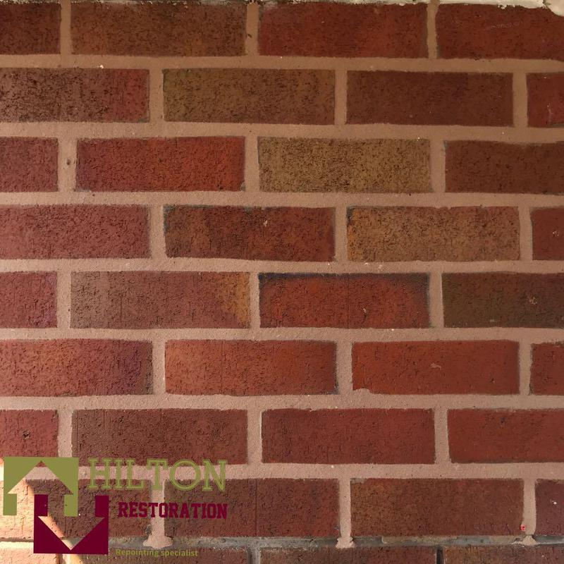 Image 3 - close up image of our standard of repointing ✅