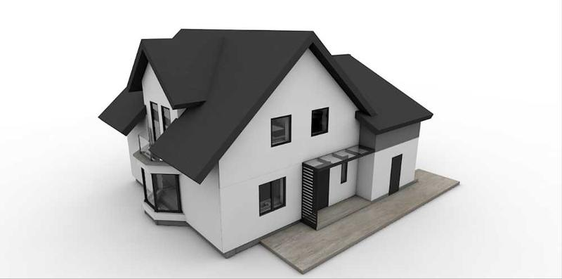 Image 3 - A new built front elevation design. Tamarisk House... can't wait to see the realisation.