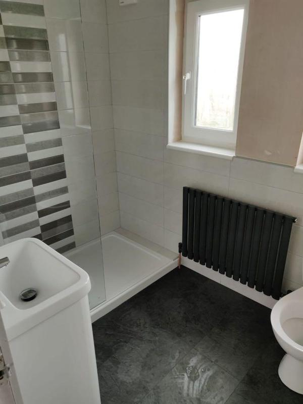 Image 3 - bathroom fit with heavy duty tray