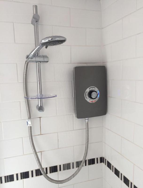 Image 21 - electric shower installed