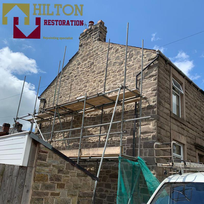 """Image 5 - Stone Repointed In Natrual Lime Mortar """"Chorley"""""""
