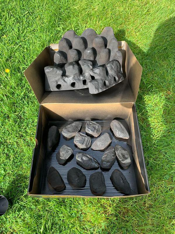 Image 25 - ILFE Gas Fire service-coals resprayed