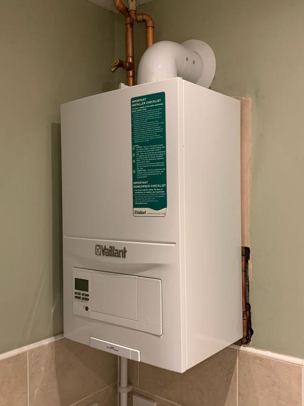 Image 63 - New Vaillant conventional boiler