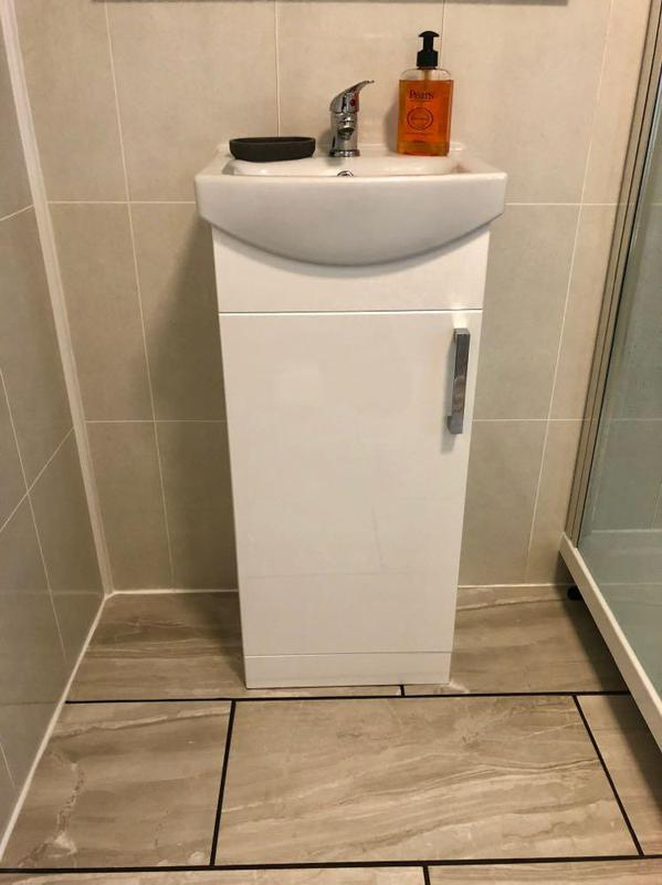 Image 16 - Nice new vanity unit as part of a new bathroom instal.