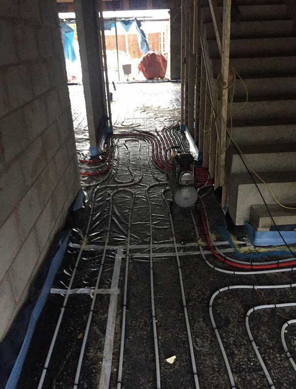 Image 4 - underfloor heating fitted & pressure tested