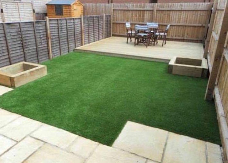 Image 4 - Artifical Grass and Decking