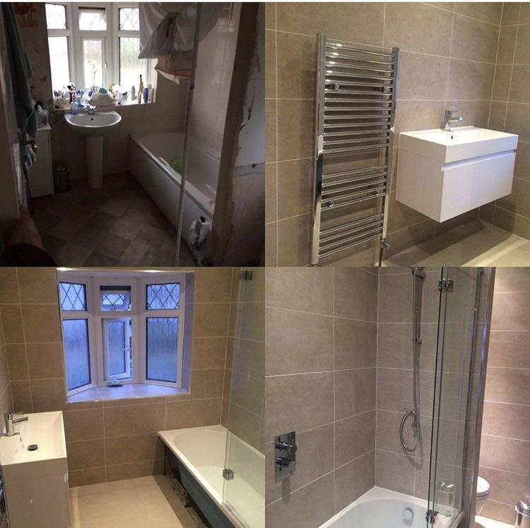 Image 17 - Handy Gentlemen bathroom revamp in Clapham SW4