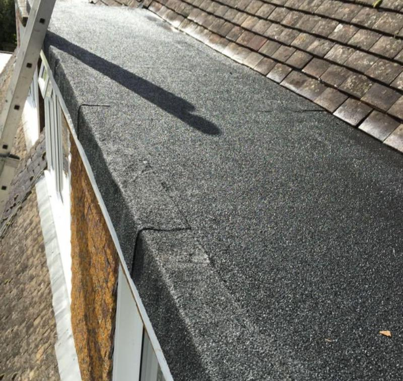 Image 2 - New 3 Layer Torch On Felt Flat Roof Completed