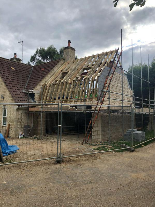 Image 19 - hand cut dutch barn roof with dormer to rear