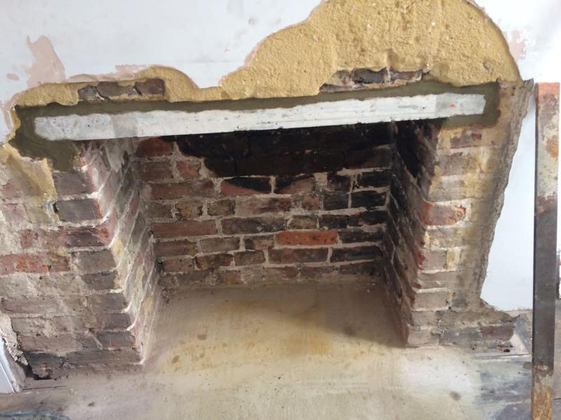Image 21 - Concrete lintel installed in Tarring