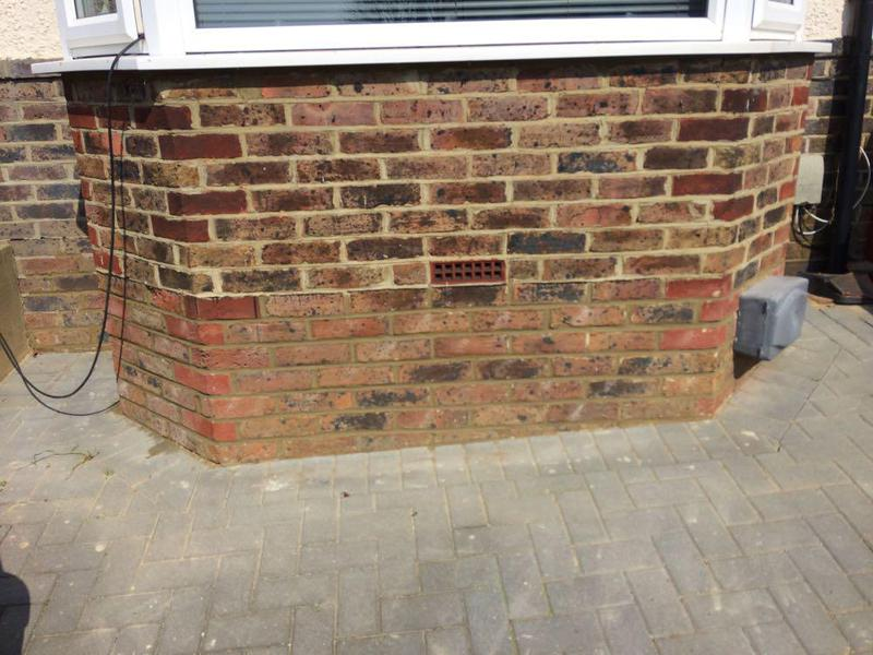 Image 18 - Repointing finished at DPC level in Portslade