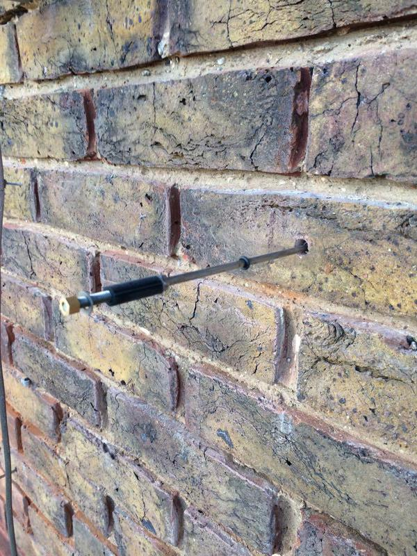 Image 50 - mechanical wall tie installation Angmering