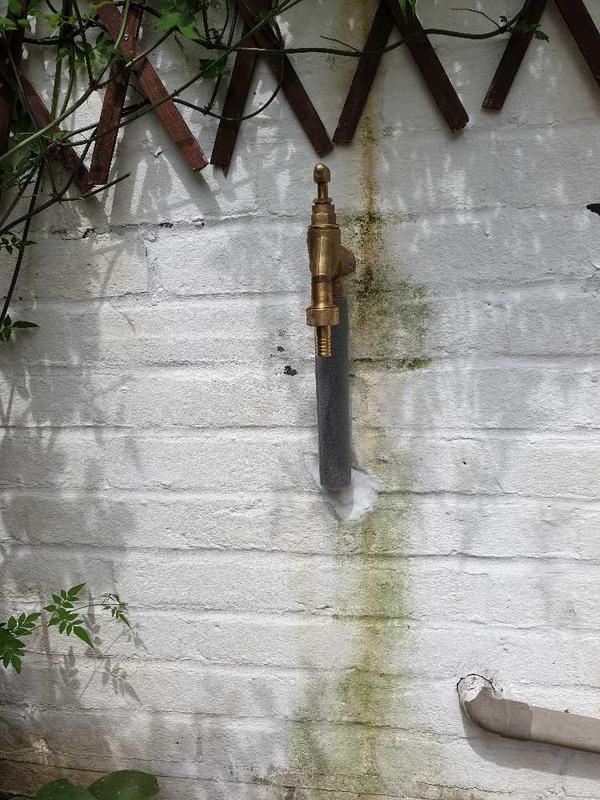 Image 36 - Outside tap installation. Staines.