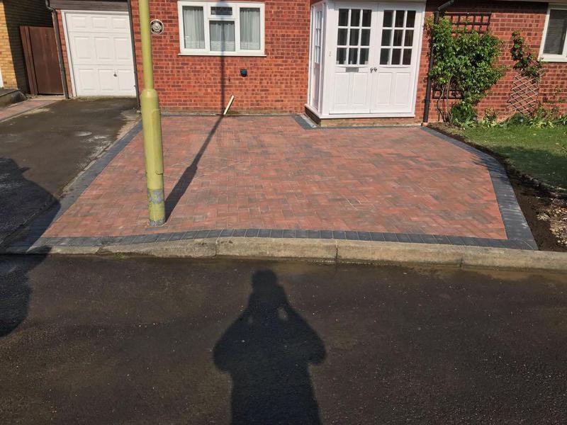 Image 75 - Block paving in Bishops Stortford